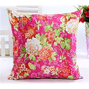 Mode China Stil Home Aufkleber Kissenbezug Umfassen 45 45 Cm Blume