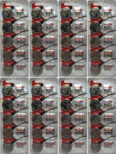 40 Pcs Maxell CR 2032 3v Lithium Batteries