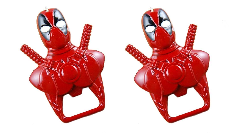 Marvel Comics Deadpool - Llavero y abridor de botellas ...