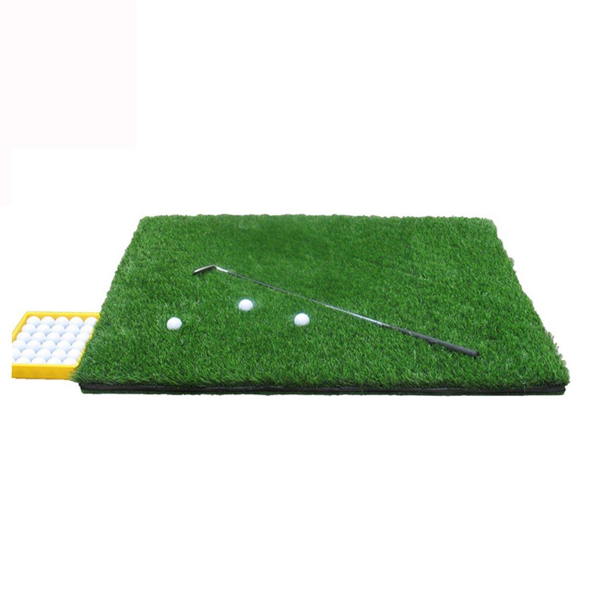 裏庭の屋内オフィスのためのDongyのゴルフ練習のマットのゴルフ訓練の泥炭のマットのゴルフドライビングレンジのマット B07JF96HG5