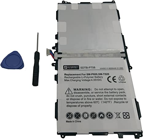 MAXBEAR 8800mAh 3.85V T8220E Tablet Replacement Battery for Samsung Galaxy Note 10.1 2014 Edition SM-P600 SM-P601 SM-P605 SM-P605V SM-P607T SM-T520 Series T8220C T8220K T8220U with Repair Tool Kit