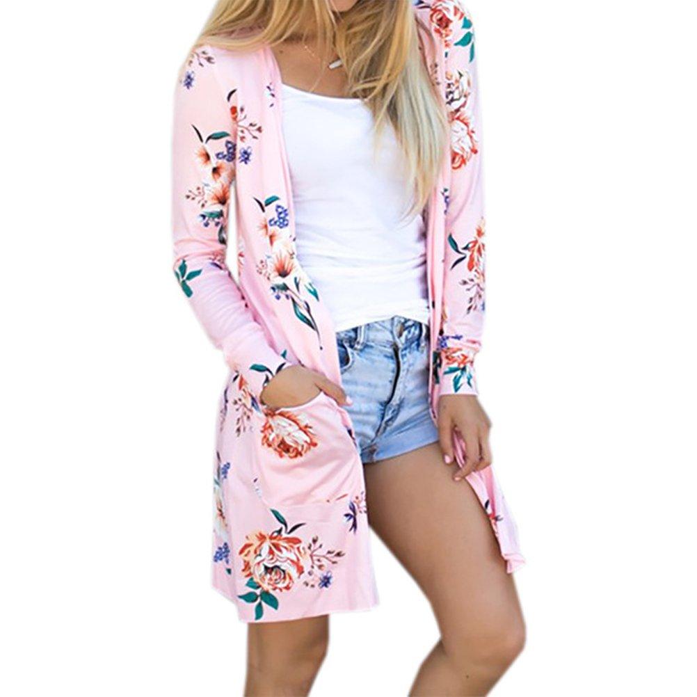 Top Coat Woman Kimono Jacket Floral Cardigans Femininas Tunic