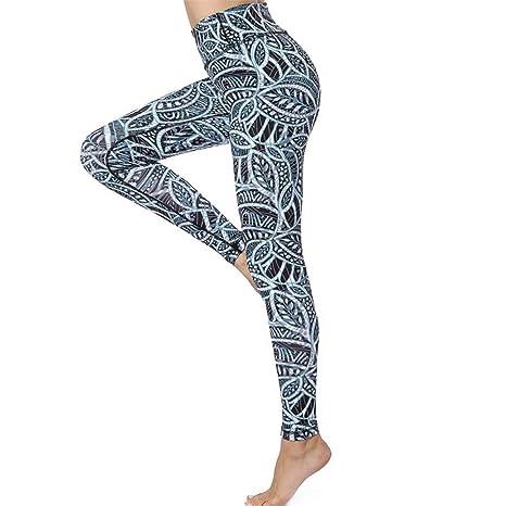 Top Shishang Pantalones de Yoga de Fitness para Mujer ...