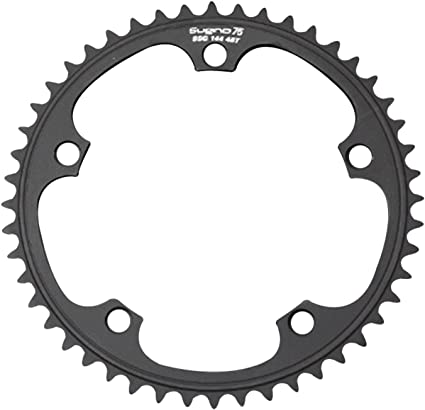 VINTAGE SUGINO 46t Chainring 3 Bolt 90mm BCD  L/'Eroica