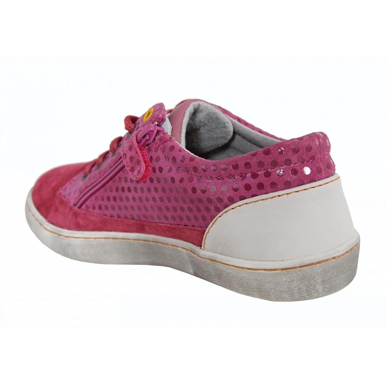 Kickers Boy and Girl Shoes 469382-30 Lylian Fuchsia Imprime: Amazon.co.uk:  Shoes & Bags