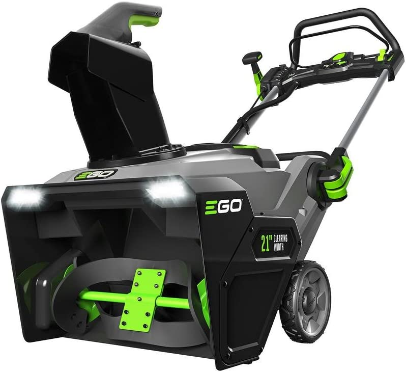 "B01MYURMK7 EGO Power+ 21"" 56-Volt Lithium-ion Dual Port Snow Blower with (2) 5.0Ah Batteries and Charger 61gs0raVptL.SL1000_"