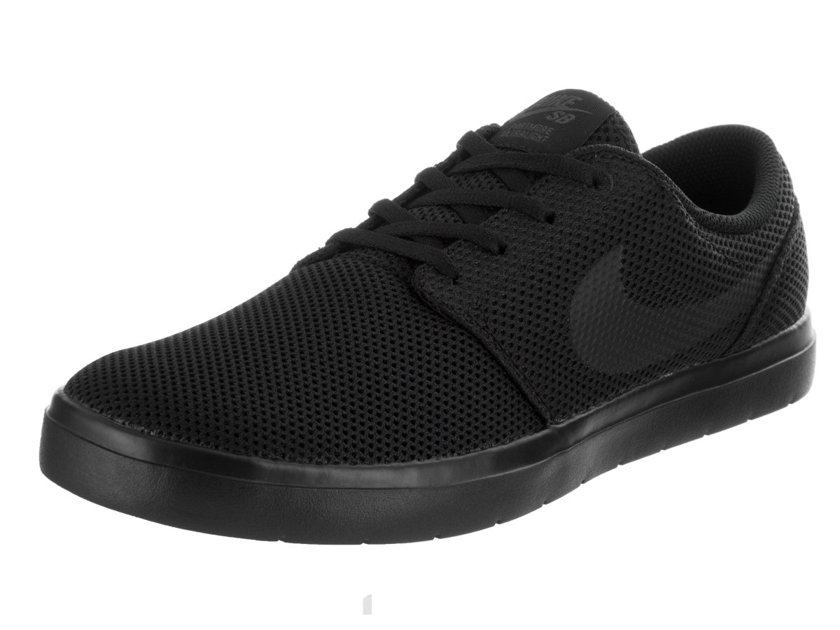 NIKE Men's SB Portmore II Ultralight Skate Shoe B002LKABYW 9 D(M) US|Black/Black-anthracite