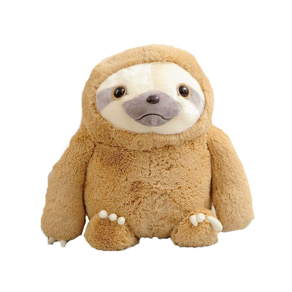 Naisidier Plush Toy Stuffed Animal Sloth Toy Ultra Soft Plush Toy Gifts for Kids Baby Children by Naisidier