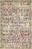 Vintage Modern and Traditional Rugs -Feet Troezen Collection Area Rug (4' x 6'-Feet, Pink, Beige, Blue, Gold, Navy Blue, Orange, Purple, Red)