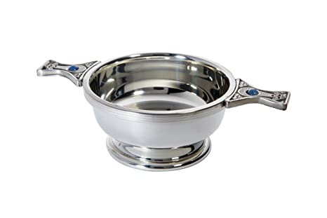 Wentworth Pewter - Standard Pewter Gem Handle Quaich Whisky Tasting Bowl Loving Cup Burns Night  sc 1 st  Amazon.com & Amazon.com | Wentworth Pewter - Standard Pewter Gem Handle Quaich ...