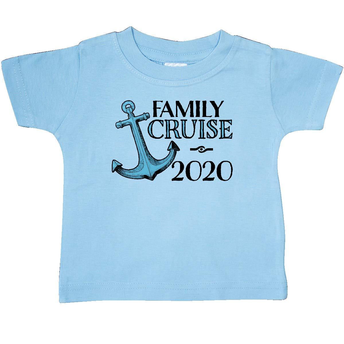 inktastic Family Cruise 2020 Blue Ship Anchor Baby T-Shirt
