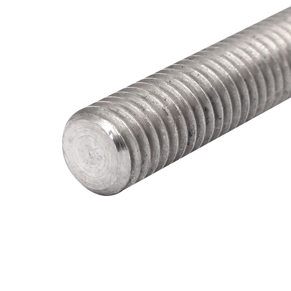 uxcell M8x110mm Thread 304 Stainless Steel Hex Socket Head Cap Screw Bolt DIN912 5pcs a16091200ux0599