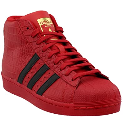 9e1392d6caa9 adidas Originals Pro Model Men s Shoes Red Black cq0873 (13 D(M)
