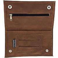 Bolsa de Tabaco Ciggy Jumper® en Estilo de Cuero Premium Usado con Compartimento de folleto Simple, Doble o Largo, Bolsa…