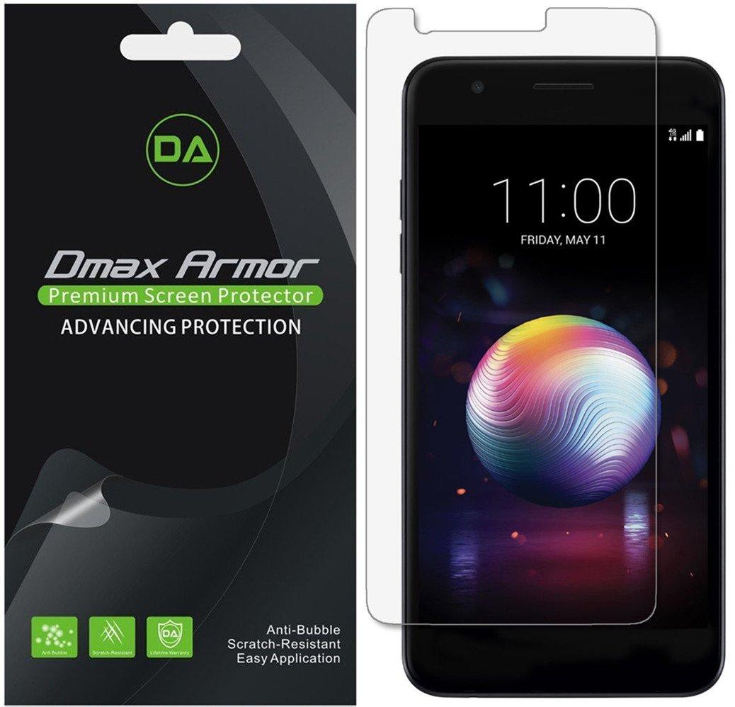 [ 6パック] DMAX Armor for LG k10 (2018 ) アンチグレア&指紋防止(マット) スクリーンプロテクター – 生涯保証 – 小売パッケージ   B07D4292G6