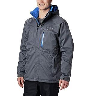 c07eb5dc390e5 Columbia Men's Alpine Action Jacket, Graphite/Super Blue, Medium