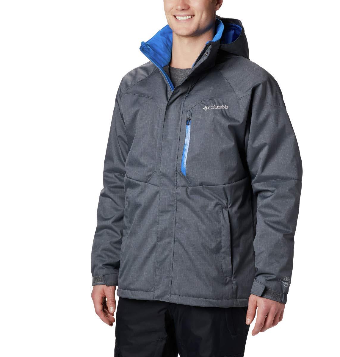 Graphite, Super bleu XL Columbia Alpine-Action veste Blouson de Ski Homme