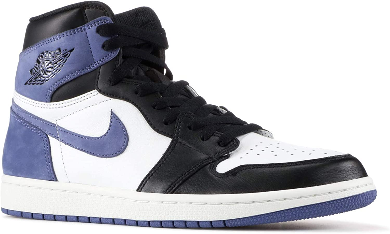 Amazon Com Nike Air Jordan 1 Retro High Og Blue Moon 555088