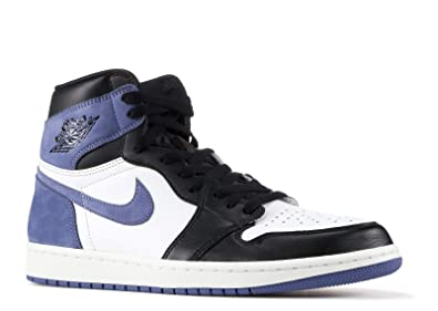 Amazon.com  NIKE AIR Jordan 1 Retro HIGH OG  Blue Moon  - 555088-115 ... 43c426c20