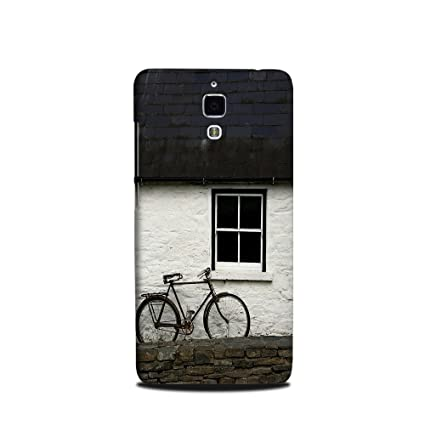half off 7cc6a f79ab Xiaomi MI4 Back Cover - theStyleO Designer case and Cover Printed Mobile  Back Cover Window Cycle for Xiaomi Mi 4