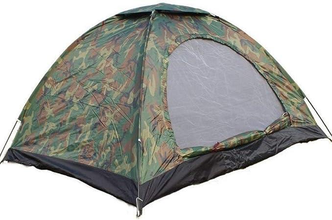 Ouzhoub Tienda de campaña Familiar, Doble Individual Exterior Carpa Turismo Tiendas de campaña Camping de Ocio sombrilla Color Obsessed (Color : 3-4p): Amazon.es: Hogar
