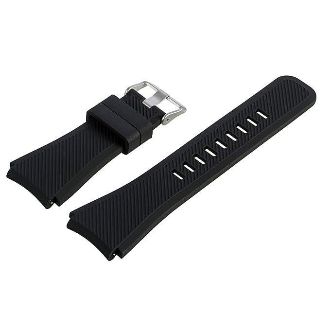 1 opinioni per Fiimi Cinturino di ricambio in silicone elastico, per Samsung Gear S3 Frontier,