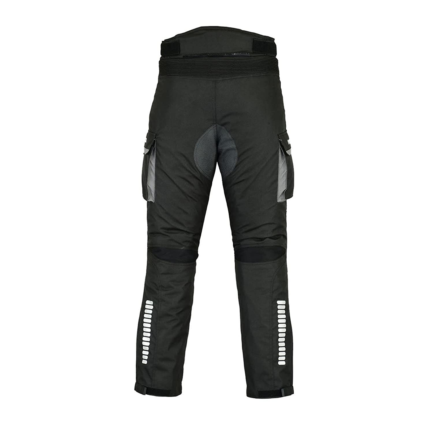 PROFIRST TR-001 CE Approved All Weather Waterproof Armoured Motorbike Motorcycle Trouser Pant with Removable Lining