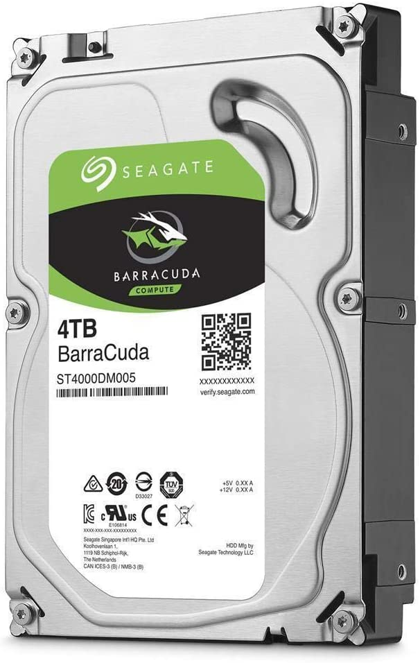 Seagate 4TB SATA 6Gb//s//5400rpm Internal Hard Drive 3.5 BarraCuda