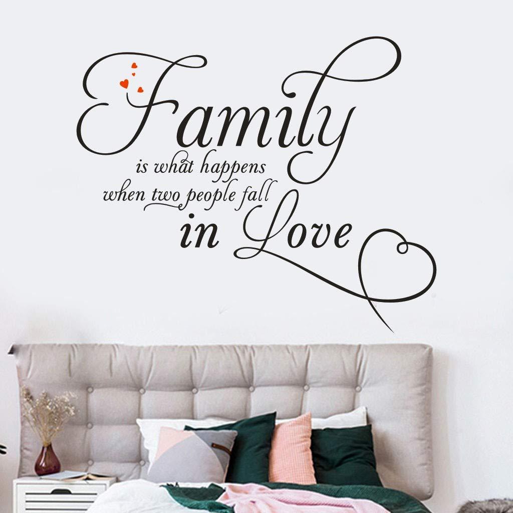 Amazon com: Euone ♛ Wall Stickers, Art Mural Family Home