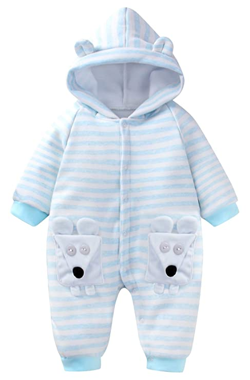 93fce1a41 Happy Cherry - Bebé Saco de Dormir de Algodón con Capucha Infantil Cálido  Pijama de Bebé