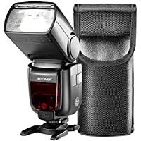 Neewer GN60 2.4G Manual HSS Master Slave Flash Speedlite for Sony A7 A7S A7SII A7R A7RII A7II A6000 A6300 A6500 A77II A58 A99 Cameras with New Mi Hot Shoe (NW865S)