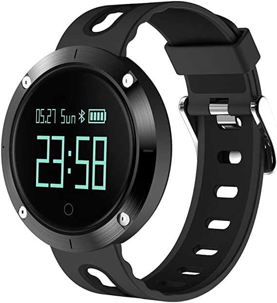 Amazon.com: zimingu Smart Watch Heart Rate IP68 impermeable ...