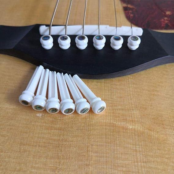 Clavijas del puente de guitarra acústica Taylor Martin, diseño ...