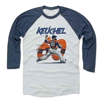 the best attitude 855c9 7f425 Amazon.com : 500 LEVEL Dallas Keuchel Baseball Tee Shirt ...