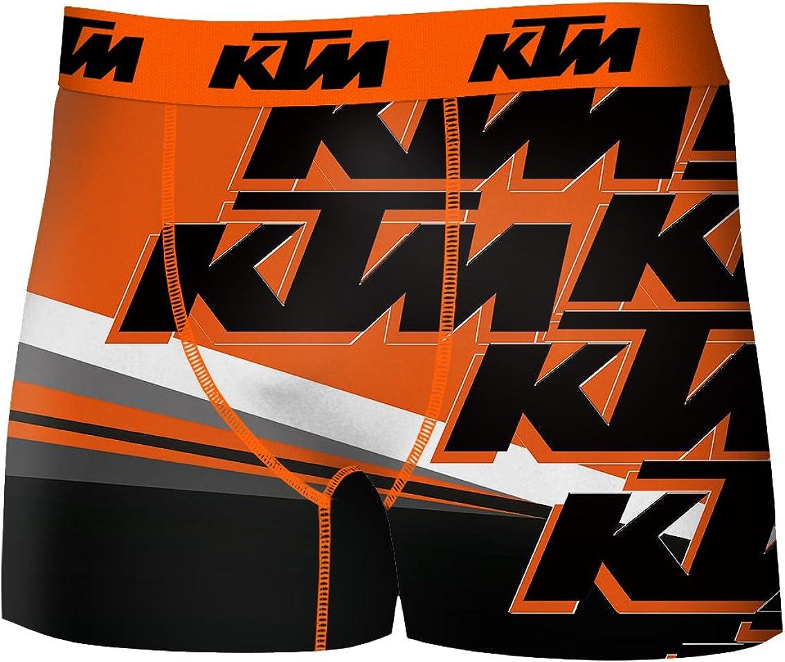 KTM - Boxer para Hombre de Microfibra
