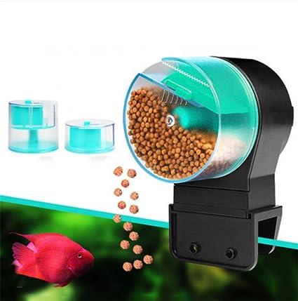 xueyan& Alimentador automático Acuario koi fish tank Goldfish Peces tropicales alimentación temporizada inteligente máquina perezoso alimentar
