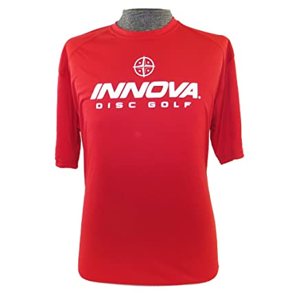 4fe5d2f63e1 Innova Rising Star Short Sleeve Performance Disc Golf T-Shirt  Design Print  Color May