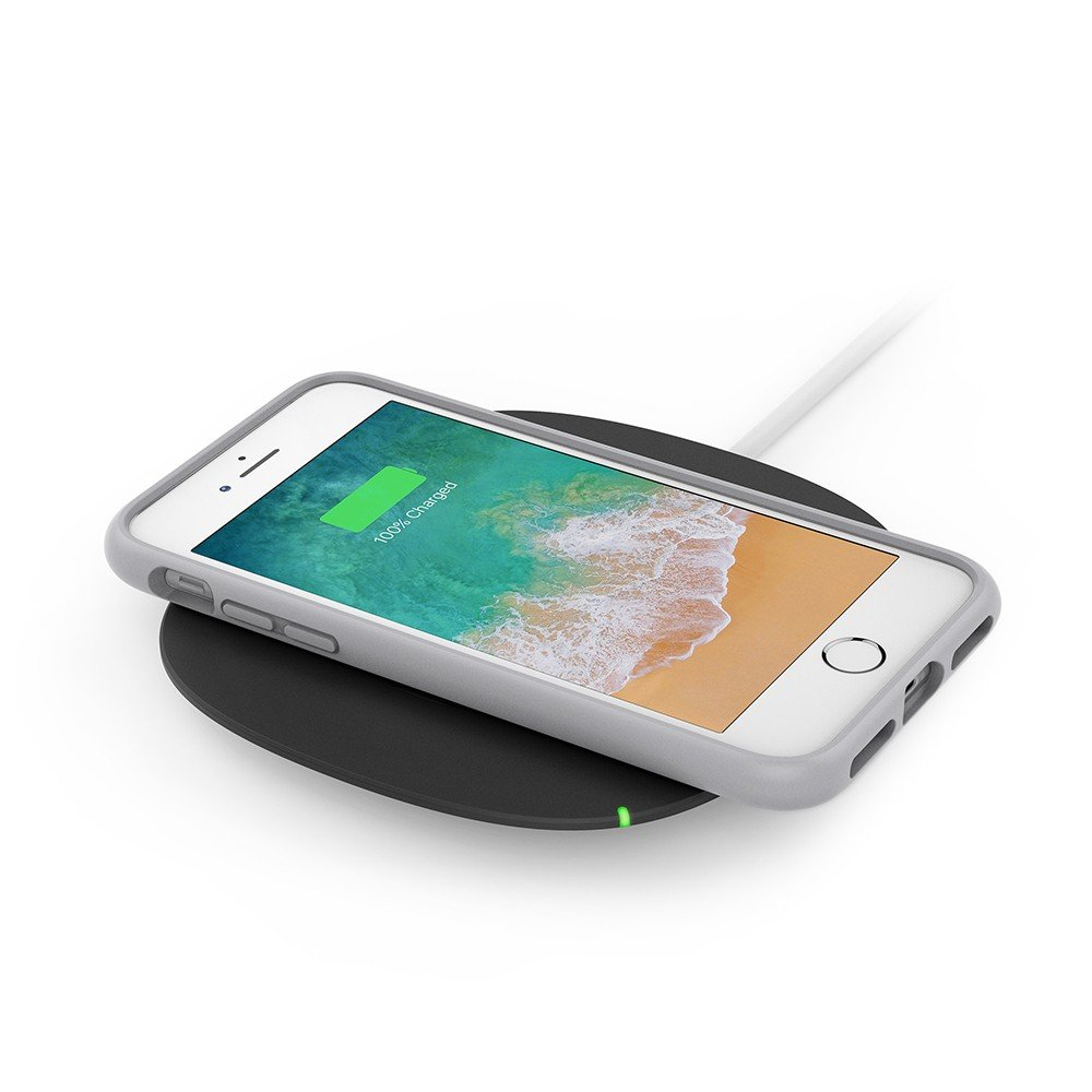 Belkin Boost up Qi (5 W) Wireless Charger iPhone X, iPhone 8 Plus, iPhone 8, Samsung Galaxy S9+/S9 Other Qi Enabled Devices (Qi-Certified Inductive Charging Pad) AC Adapter Included, Black by Belkin (Image #6)