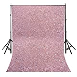 Lyly County 5×7 Ft Polyester Color Stone Photography Backdrop Millennial Pink Photo Studio Background Props LYGE005