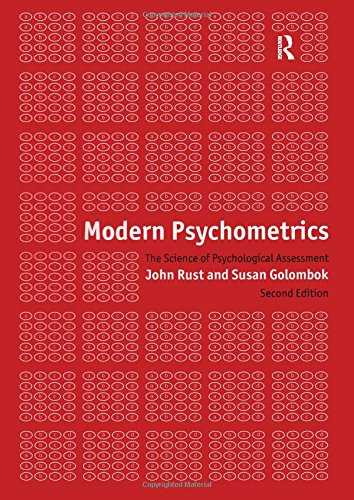Modern Psychometrics (International Library of Psychology)