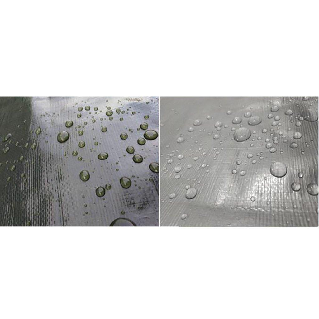 TDLX Wasserdichte Regenschutzplane der Tarnung, die regendichte Plastikplane verdickt (größe    (größe 4m8m) 002155