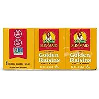 Sun-Maid Golden Raisins, 28.3g, (Pack of 6)