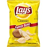 Lay's Classic Family Size Potato Chips, 10 Ounce