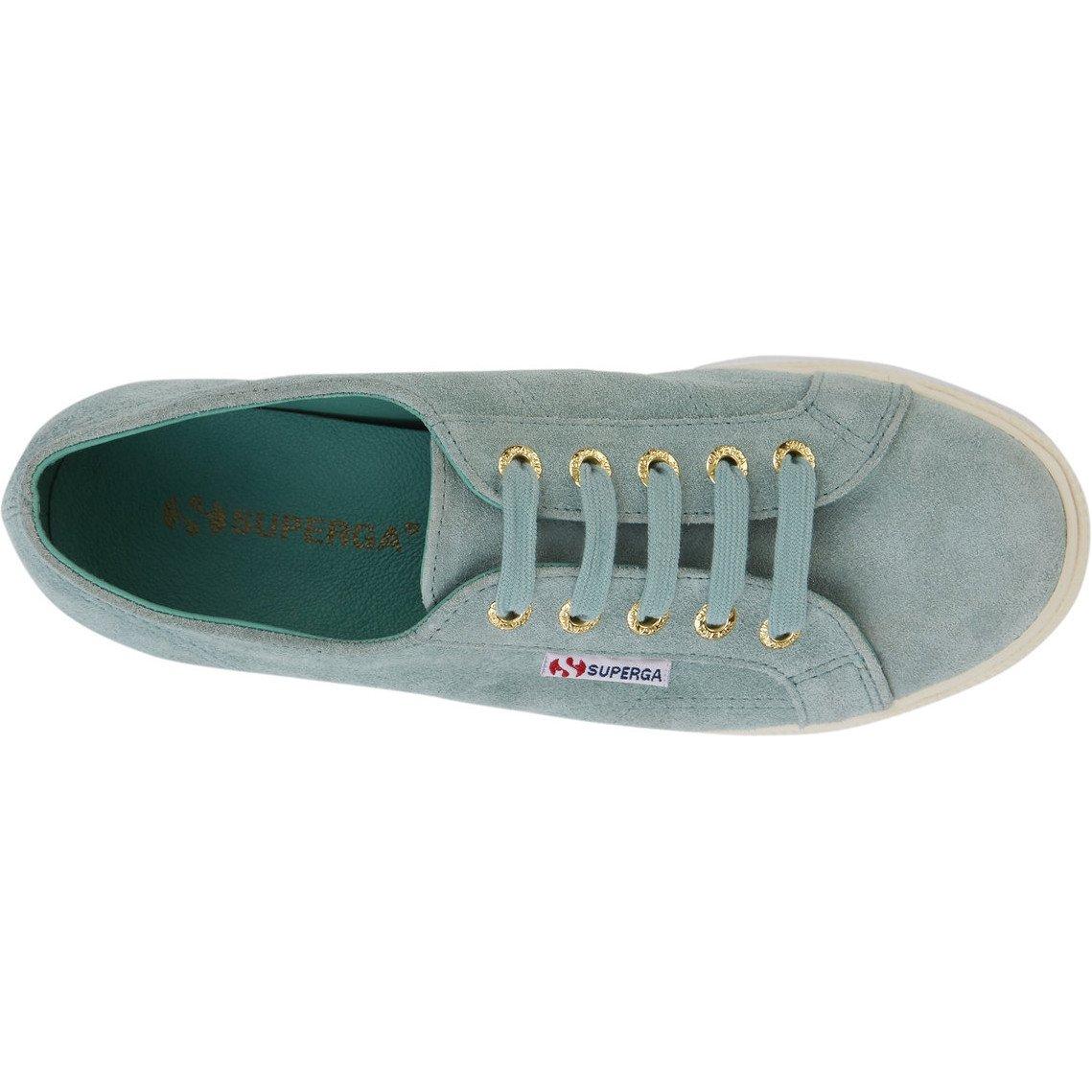 Superga Damen 2790-suew Grün Sneaker, Grün 2790-suew Lt Sage ebb6ff