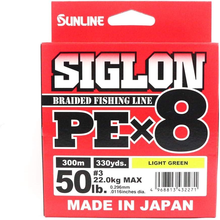 Sunline - Señuelo trenzado PEX8 de 0,296 mm, 22 kg, para pesca de ...