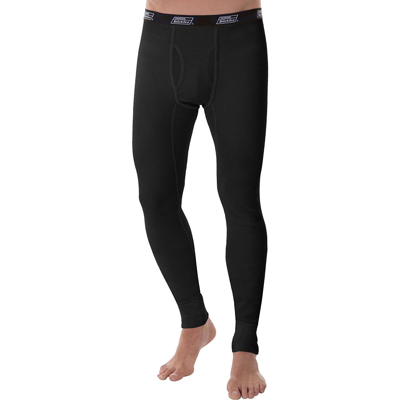 Dickies Men's Heavy Weight Work Thermal Pant Underwear Black Soot) 00-VNFZV4-FR