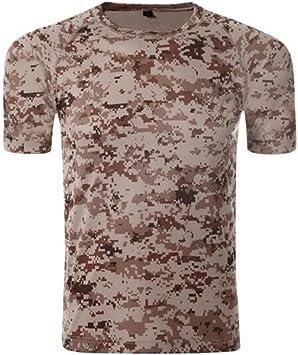 Militar Táctica Camuflaje Camisa para Hombre Al Aire Libre