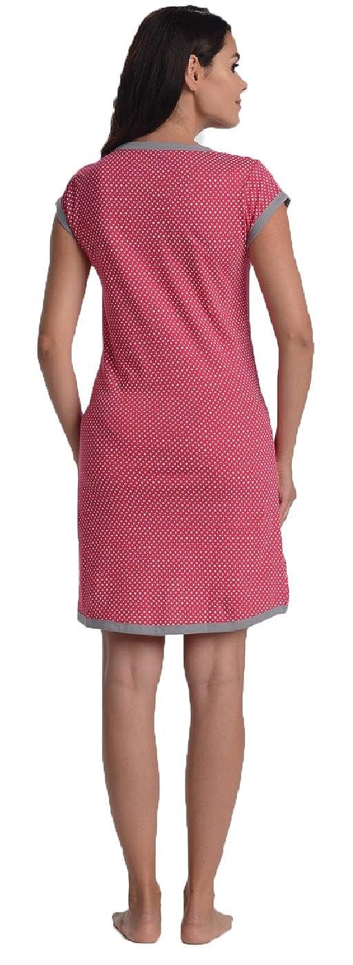 Di Vadini Umstandsnachthemd//Stillnachthemd Franca aus 100/% Baumwolle
