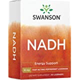 Swanson Fast-Acting Nadh High Bioavailability 10 Milligrams 30 Tabs