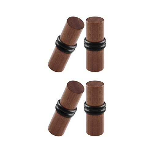 Amazon.com: BIG GAUGES 2 pares de piercings de madera con ...